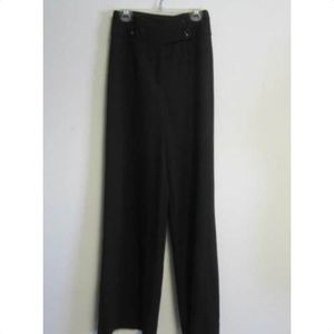 DOLCE & GABBANA black wide-legged pants sz 24/38